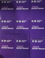 2002 Silverado Sierra Service Manuals GM CK8 Platform