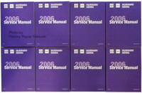 Chevrolet Silverado GMC Sierra 2006 Service manual Volume 1, 2, 3, 4