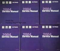 2004 Chevrolet Avalanche Suburban Tahoe GMC Yukon Denali Cadillac Escalade Service Manual Volume 1, 2 ,3