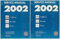 2002 Chevy Trailblazer, GMC Envoy, Olds Bravada Factory Shop Service Manual Set - New