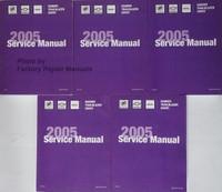 2005 Buick Rainier Chevrolet TrailBlazer GMC Envoy Shop Service Repair Manual Set