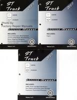 ST Truck 2007 GMC Canyon Chevrolet Colorado Service Manual Volume 1, 2, 3