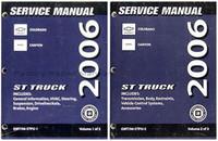 2006 Chevy Colorado & GMC Canyon Factory Shop Service Manual Set New