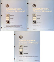 2008 Buick Enclave, GMC Acadia & Saturn Outlook Factory Shop Service Repair Manual Set