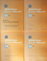 2008 Cadillac CTS Factory Service Manual Volume 1, 2, 3, 4