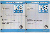 2005 Cadillac Deville DTS DHS Original Factory Shop Service Repair Manual Set