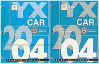 2004 Cadillac XLR Roadster Factory Shop Service Manual Set