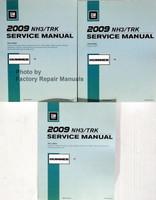 GM 2009 NH3/TRK Service Manual Hummer H3 Volume 1, 2, 3