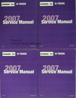 Hummer H3 GM N-Truck 2007 Service Manual Volume 1 & 2 (4 Books)