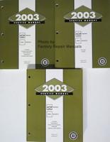 2003 Service Manual Chevrolet Express GMC Savana Volume 1, 2, 3
