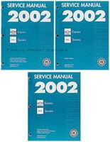 2002 Chevrolet Express Van - GMC Savana Van Factory Service Repair Shop Manual Set