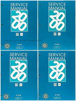 2000 Chevrolet Express, GMC Savana Van Factory Service Manuals NEW - Original Shop Repair