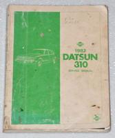 1982 DATSUN 310 Factory Shop Service Repair Manual N10