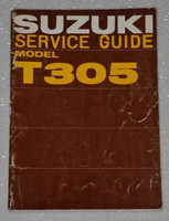 1968 1969 SUZUKI RAIDER MOTORCYCLE T-305 305cc Dealer Shop Service Repair Manual