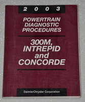 2003 Chrysler Concorde LHS Dodge Intrepid Powertrain Diagnostics Service Manual