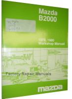 Mazda B2000 1979 1980 Workshop Manual