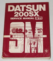 1979 DATSUN NISSAN 200SX Factory Shop Service Repair Manual S10 Series