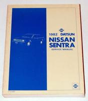 1982 DATSUN NISSAN SENTRA Factory Shop Service Repair Manual