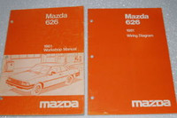 1981 MAZDA 626 Coupe Sedan Sport Factory Dealer Shop Service Repair Manual Set