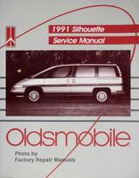 1991 Silhouette Service Manual Oldsmobile
