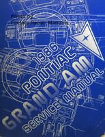 1986 Pontiac Grand Am Factory Service Manual