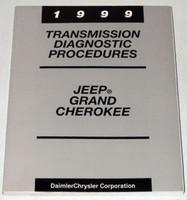 1999 Jeep Grand Cherokee Laredo Transmission Diagnostic Procedures Shop Manual