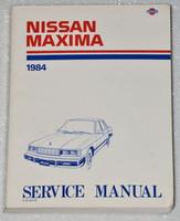 Nissan Maxima 1984 Service Manual