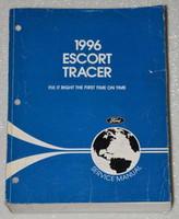 1996 Ford Escort & Mercury Tracer Factory Service Manual Original Shop Repair