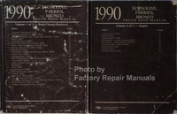 1990 Ford Econoline F150 F250 F350 Truck Bronco Shop Manuals