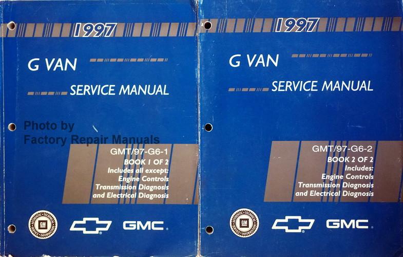 1997 chevy express gmc savana 1500 2500 3500 gm g van shop service rh factoryrepairmanuals com chevy express 3500 service manual 2002 chevy express service manual