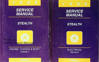 1996 Service Manual Stealth Volume 1, 2