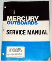 MERCURY ELECTRIC OUTBOARD TM DM RC Shop Service Repair Manual C-90-86121 078
