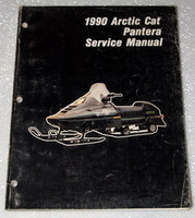1990 ARCTIC CAT PANTERA Snowmobile Original Factory Shop Service Repair Manual