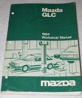 1984 MAZDA GLC DX LX Sedan Hatchback Factory Dealer Shop Service Repair Manual