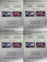 2007 Service Manual Chrysler Aspen Dodge Durango Volume 1, 2, 3, 4