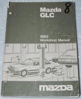 1983 MAZDA GLC Custom Sport Sedan Hatchback Factory Shop Service Repair Manual