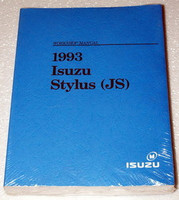 1993 ISUZU STYLUS SEDAN Original Factory Dealer Shop Service Repair Manual NEW