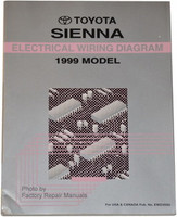 Toyota Sienna Electrical Wiring Diagrams 1999 Model
