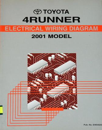 2001 toyota 4runner electrical wiring diagrams original factory rh factoryrepairmanuals com 2001 toyota 4runner spark plug wire diagram 2001 toyota 4runner wiring diagram