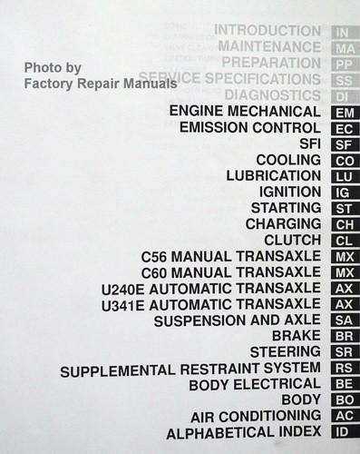 2001 toyota celica factory service manual set original shop repair rh factoryrepairmanuals com 2002 Toyota Celica GT Horsepower Used 2002 Toyota Celica GT