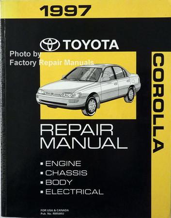 Toyota repair manual free pdf