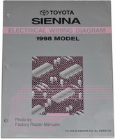 Toyota Sienna Electrical Wiring Diagrams 1998 Model