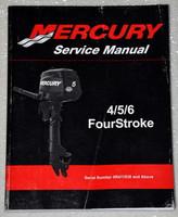 2011 MERCURY OUTBOARD 4 5 6 HP 4 Four Stroke Factory Shop Service Repair Manual