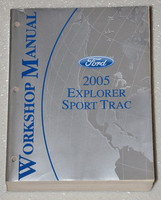 Ford 2005 Explorer Sport Trac Workshop Manual