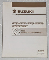 1999 SUZUKI GRAND VITARA, VITARA Factory Electrical Wiring Diagrams Shop Manual