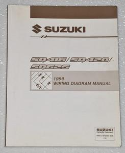 1999 suzuki grand vitara vitara factory electrical wiring diagrams rh factoryrepairmanuals com