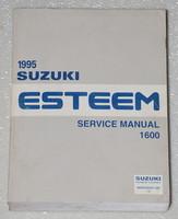 1995 SUZUKI ESTEEM 1600 Factory Dealer Shop Service Repair Manual GL GLS PLUS 95