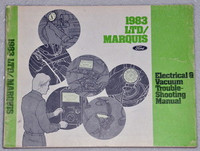 1983 Ford LTD Mercury Marquis Electrical & Vacuum Troubleshooting Manual