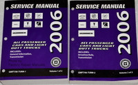2006 Chevrolet, Buick, Cadillac GMC, Pontiac, Saturn, Hummer Car & Truck Automatic & Manual Transmission Unit Repair Manual