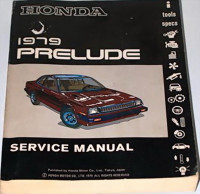 Honda 1979 Prelude Service Manual